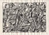 Серия «Структура».  1970-71  Б., тушь, перо  20,4х28,8 _3