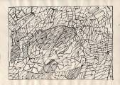 Серия «Овалы в структуре».  1970-71   Б., тушь, перо 20,4х28,8_3