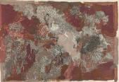 Композиция 1.(Из серии «Поверхность»). 1994. Бумага, тушь, перо, гуашь. 60,5х85,5._1